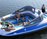 Opblaasbare speedboat