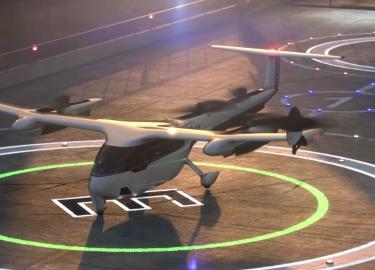 vliegende taxi's