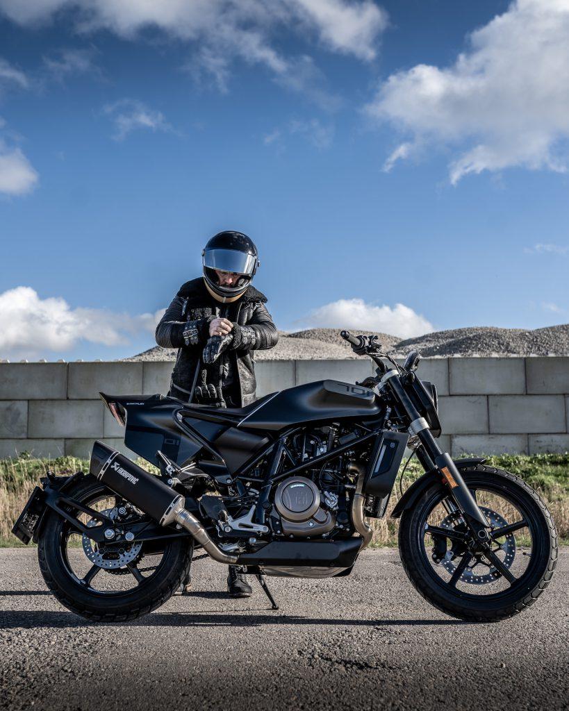 Arjan van den Boom Husqvarna Motorcycles