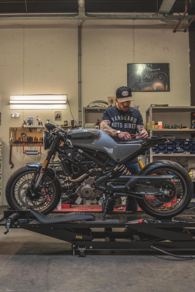 De Vitpilen 401 van Husqvarna Motorcycles