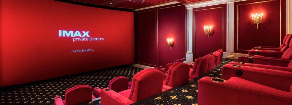 Stel laat eigen privé IMAX bioscoop bouwen van maar liefst een half miljoen dollar