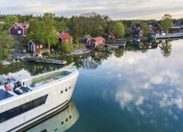 FHM-Luxe schip Stockholm