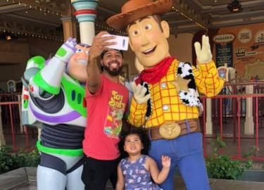 Woody en Buzz Lightyear