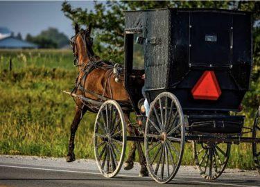 Amish gelovigen op de vlucht