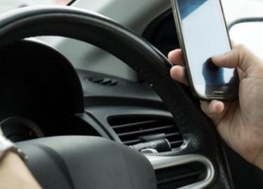 Flitspaal controleert op smartphone