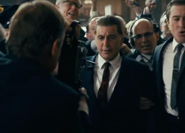 The Irishman official trailer