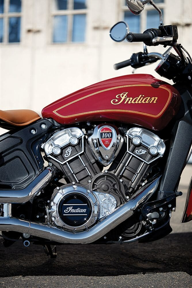 Scout 100th Anniversary. Foto: Indian Motorcycle