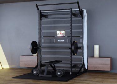 Met dit Pivot Bed heb jij een slaapplek en sportschool in één