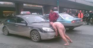 Naakte Vrouw In Auto Stock Afbeelding Image Of Vrij 23919217